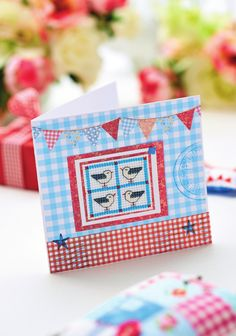 Bring nautical flair to your crafting with Helen Philipps' seagull-inspired sewing kitPatchwork projects like this can be given a boost with the addition of small details