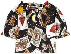 Dolce & Gabbana Mini Me poplin blouse