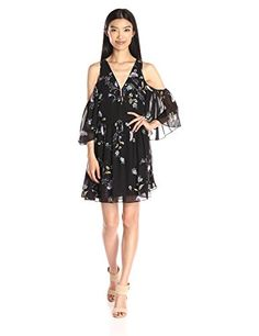 Back is too low on this. Like showing of the shoulders. More of a going out to dinner dress. Rebecca Minkoff Women's Robbie Dress, Tropical Vine Multi…
