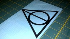 Deathly Hallows Duct Tape Wallet by Undeniability on Etsy, $14.00