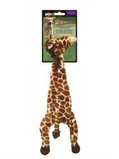 Ethical 5707 Skinneeez Giraffe StuffingLess Dog Toy 20Inch -- For more information, visit image link.