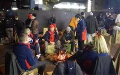 SA CEOs brave the cold to sleep on the streets for charity Charity, Brave, Night Out, Cold, Street, Children, Young Children, Boys, Kids