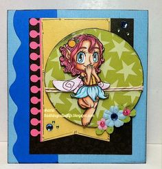 card using a fairy image from Some Odd Girl