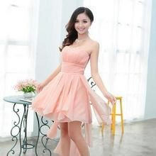 Luxury Style - Strapless High Low Party Dress