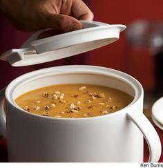 Roasted Pumpkin-Apple Soup