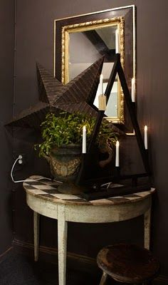 dark barn star Focal Points are ver important in decorateing weather it be inside or outside your home this is pinned from Focal Point go see