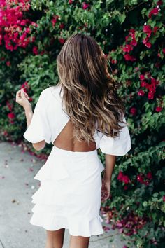 brunette hair with balayage highlight on Everyday Pursuits