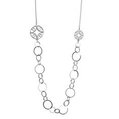 """Florence necklace - available in gold and silver. Get 25% off this necklace with code """"foxypin"""" www.foxyoriginals... Tags: silver jewelry, silver, necklace, imaginary voyage"""