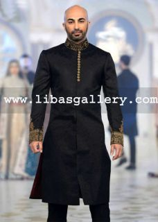 Buy 2014 Groom Sherwani Dresses By HSY, Pakistani Wedding Sherwani Collection, HSY Sherwani in New Jersey, Zainab Chottani Groom Sherwani, Zainab Chottani Sherwani, HSY Sherwerani, Wedding Sherwani, HSY, Zainab Chottani Sherwani Shops in New Jersey,