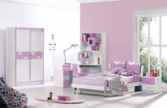 Girls Bedroom Furniture Sets - Bedroom A Girls Bedroom Furniture Sets, Bedroom Decor For Teen Girls, Modern Bedroom Furniture, Modern Bedroom Design, Bedroom Sets, Kids Furniture, Kids Room Design, Girl Room, Home