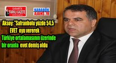 Necdet Aksoy'dan Referandum Değerlendirmesi.