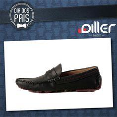Mocassim de couro Diller Shoes. #mocassim #couro