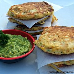 Yummy Zucchini fritters - perfect for the picnic or lunch box!