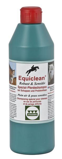 Stassek Equiclean Robust & Sensitiv Spezial-Pferdeshampoo - mehr unter www.stassek.com Stassek Equiclean Outdoor & Sensitive speacial horse shampoo - see www.stassek.com Stassek Equiclean Plein Air & Peau Sensitive shampooing pour chevaux - voir www.stassek.com