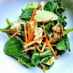 Fast Energy-Packed Paleo Green Salad - Healthy 5-Minute Meals from Nutrition Pros - Shape Magazine