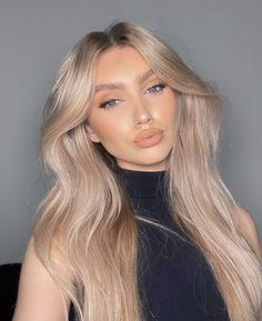 Down Hairstyles, Pretty Hairstyles, Blonde Hair Looks, Balayage Hair Blonde, Aesthetic Hair, Big Hair, Hair Day, Gorgeous Hair, Hair Lengths
