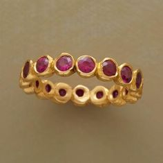 Passionate Ruby Ring