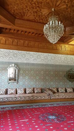 Sala de repouso e chá do Hotel Riad Mogador Menara - Marrakech - Marrocos