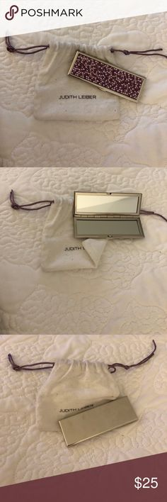 Judith Leiber mirror Judith Leiber for target bedazzled mirror. Judith Leiber Other