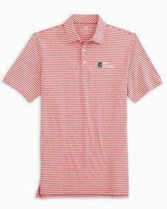 Boys Ryder Bramble Striped Performance Polo Shirt | Southern Tide Summer Family Portraits, Southern Clothing Brands, Polo Shirt Style, Preppy Boys, Boy Outfits, Hemline, Southern Tide, Sleeves, Mens Tops