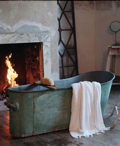 EN MI ESPACIO VITAL: Muebles Recuperados y Decoración Vintage: baño/bathroom