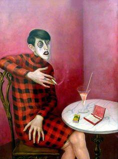 Sylvia von Harden (1926) by Otto Dix (peira)