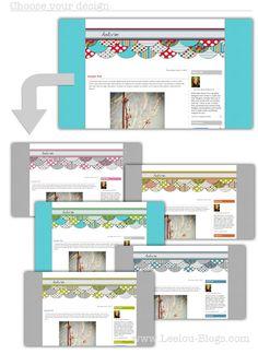 Premade Blog designs - Design your own blog