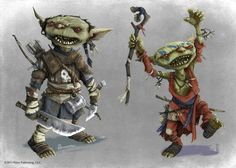 Pathfinder - Goblin 'Iconics' by TimKings-Lynne monster beast creature animal | Create your own roleplaying game material w/ RPG Bard: www.rpgbard.com | Writing inspiration for Dungeons and Dragons DND D&D Pathfinder PFRPG Warhammer 40k Star Wars Shadowrun Call of Cthulhu Lord of the Rings LoTR + d20 fantasy science fiction scifi horror design | Not Trusty Sword art: click artwork for source