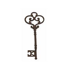 D.C.I. Cast iron skeleton key Large 9.75