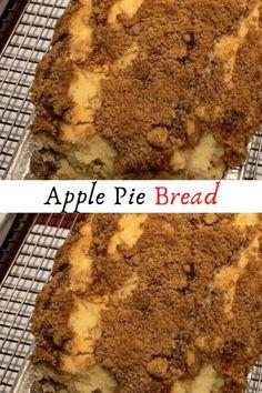 Apple Pie Bread #Apple #Pie #Bread #Desserts #Dessert