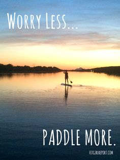 Sunset paddle on the Salt River Basin in Arizona.