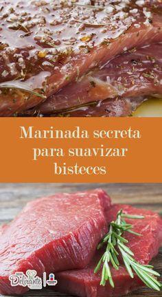 Receta facil y deliciosa de marinada con ajo para suavizar bisteces