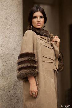 дизайнерское зимнее пальто
