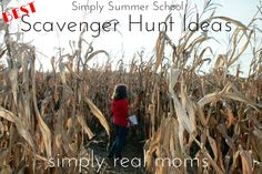 Best scavenger hunt ideas on the web!