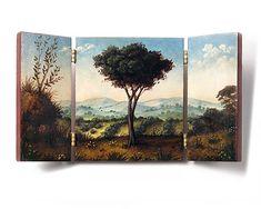 Christina Goodman: Floral triptych pin
