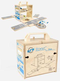 Bem Legaus!: Aeroporto de madeira