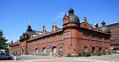Tulli- ja pakkahuone, Katajanokka, Helsinki 1901 by  Gustaf Nyström (1856-1917),
