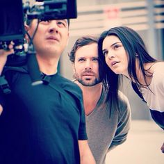"""@kevinmcphotograph: """"Behind the scenes on the #esteelauder shoot with #kendalljenner #k23films"""""""