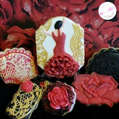 Flamenco Dancer - Cookies by Shannon - Sports-Dance