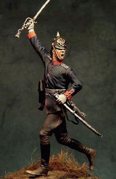 Prussian officer, by Bill Horan
