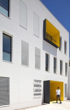 Centro de Saúde\ Maiorca, Espanha (Maiorca), 2011. MACA Estudio de Arquitectura\ Centro de Saúde de Porreres.