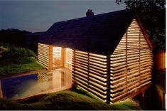 Located on an 850-acre estate in Somerset, England, The Dairy House is an adaptive re-use project turning a series of old run-down barn buildings and sheds into a five-bedroom home. Various lean-t...