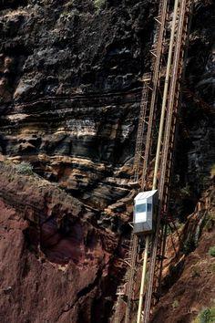 Teleférico até Fajã do Padres, Madeira.