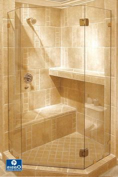 Image result for walk in shower with seat