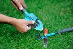 Get your garden and landscaping tools in shape for spring >> http://www.diynetwork.com/how-to/outdoors/gardening/keeping-lawn-and-garden-tools-in-shape?soc=pinterest