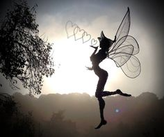Fantasy Wire Fairies Sculptures  http://www.fantasywire.co.uk/pdf/fantasywirestarterkit.pdf  PDF shows kit you can get to make your own