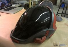 Halo EVA Helmet - Prop Replicas, Custom Fabrication, SPECIAL EFFECTS