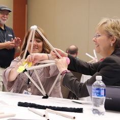 For most attendees, hands-on workshops define the ISEA experience. Teachers learn by doing, whether that means programming PRIZM, Pitsco's new programmable controller for TETRIX, or exploring 3-D geometry in a Pitsco makerspace...
