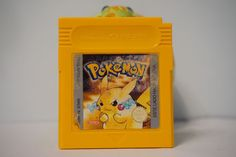 Pokemon edicion amarillo pikachu game boy guarda partida idioma español ESP 5638