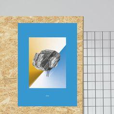 Le Flugobjekt I   Kunstdruck  Artwork  Poster Series